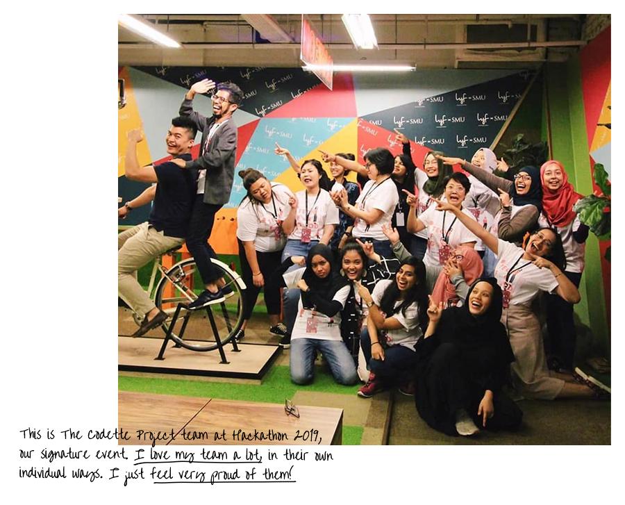 Creative Chronicles Nurul - The Codette Project team