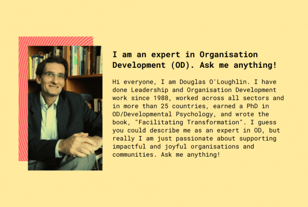 Dr Douglas and an invitation to ask him anything