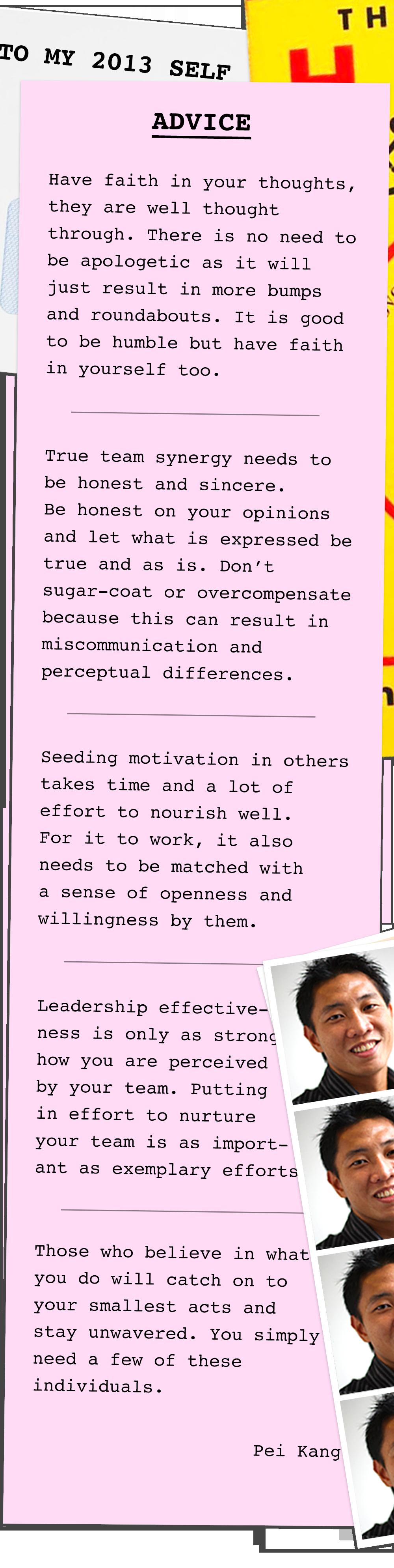 Creative Chronicles Series 2 Pei Kang Letter