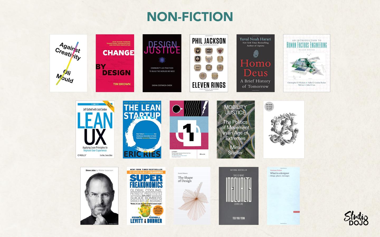 DesignSG Book Recommendations - Nonfiction
